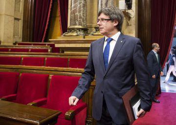 Puigdemont se someterá a una cuestión de confianza en septiembre