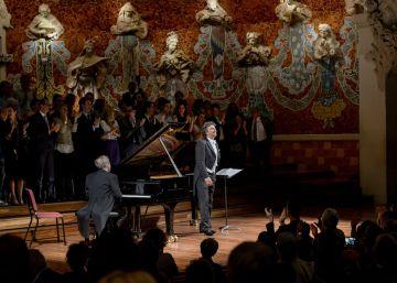 Y al final, Jonas Kaufmann conquistó el Palau de la Música