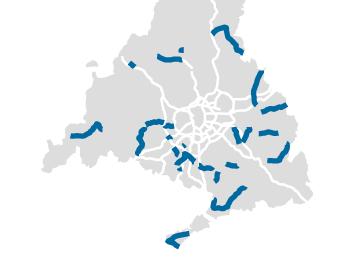 La región tiene 257 kilómetros de tramos peligrosos en vías secundarias