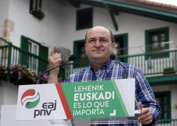 """Ortuzar apela al """"pase foral"""" para reclamar a los electores el """"voto vasco"""""""
