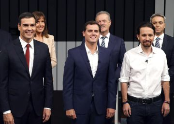 Sánchez e Iglesias se enfrentan por el referéndum