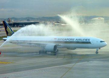 Singapore Airlines cancela su vuelo entre Barcelona y Sao Paulo