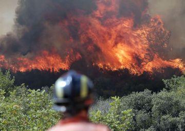 Un detenido por causar de forma premeditada el incendio de Valencia