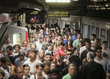 El metro pierde 40.000 pasajeros diarios por las huelgas