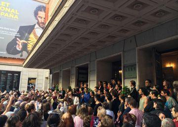 El Ballet Nacional empieza la huelga
