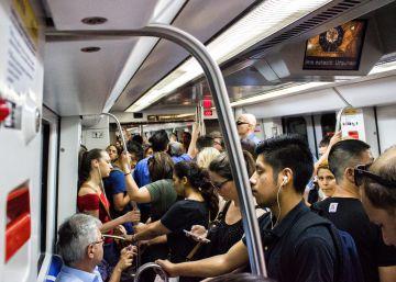 La huelga del metro de Barcelona entra en campaña