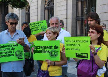 La Generalitat no cierra la puerta a tener más docentes el próximo curso