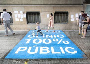 Barcelona rechaza la actividad privada en hospitales públicos