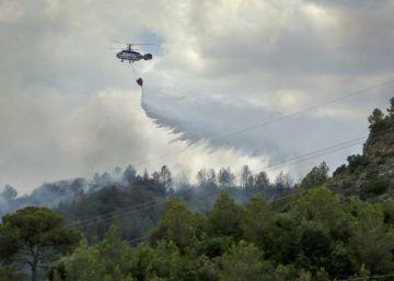Tres agricultores detenidos por el incendio de Carcaixent