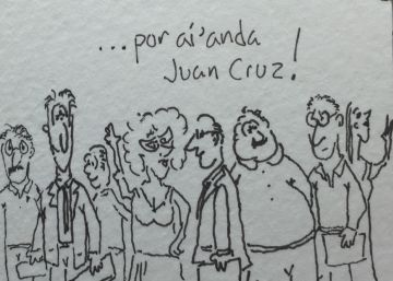 ¿Dónde anda Juan Cruz?
