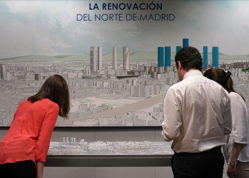 Castellana Norte denunciará al Ayuntamiento por anular el anterior plan Chamartín