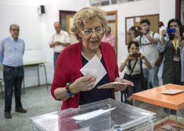 El PP deja atrás a Unidos Podemos en la capital y el PSOE remonta
