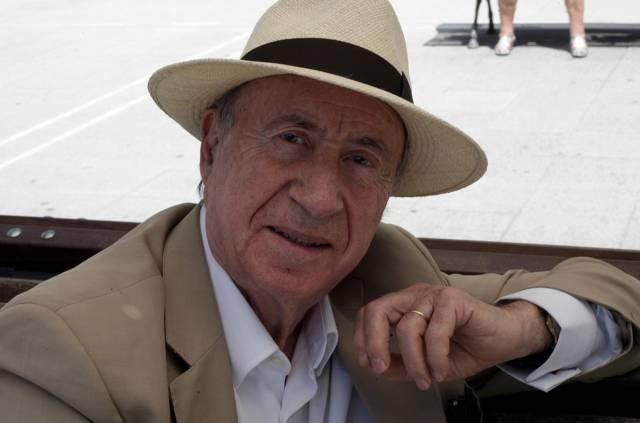 El dibujante y arquitecto Peridis, este lunes en Bilbao.