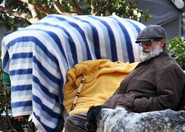 Las personas que duermen en la calle en Valencia ascienden a 404