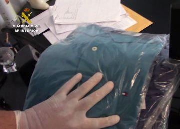 Detenido un vendedor de artículos falsos de primeras marcas