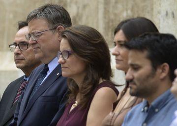 Minuto de silencio del Consell en repulsa por el atentado de Estambul