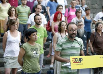 La CUP dice que el RUI no es una línea roja para apoyar a Puigdemont
