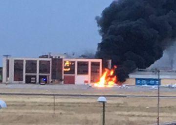 Dos muertos al estrellarse una avioneta en el aeródromo de Cuatro Vientos