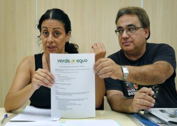 Un grupo de críticos recurre su expulsión de Verds-Equo