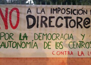 """El director del colegio de Bustarviejo denuncia una """"agresión"""" de los padres"""