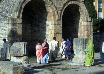 Jesús, crucificado por chavales de Tarragona