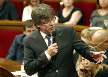Puigdemont defiende la legalidad de la 'cesión' de un hospital a Hestia