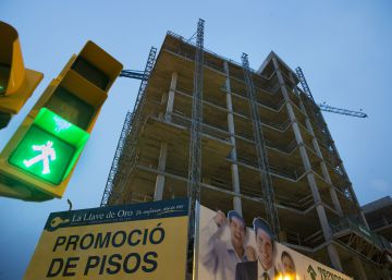 Los visados de edificios crecen un 15% pero la construcción sigue sin despegar