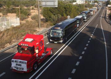 Las Terres de l'Ebre cortarán la N-340 a diario