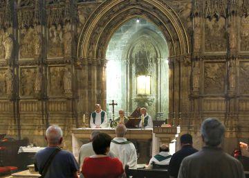 Misa (discreta) a Franco en la catedral del cardenal Cañizares