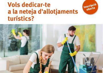 Colau retira la campaña de un curso para limpiadoras de pisos turísticos