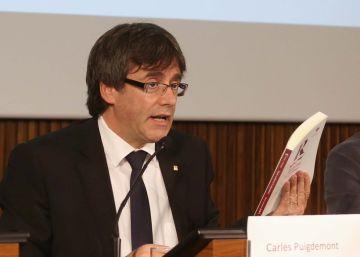 Puigdemont avala un estudio que prevé 139.000 empleos con la secesión