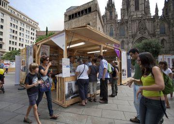 Cuatro kilómetros de libros en catalán