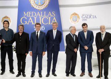 Gallego Jorreto, Los Suaves, Leiro y Basilio Losada reciben las Medallas de Galicia
