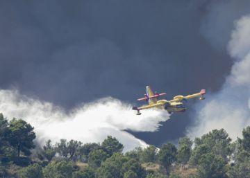El incendio de Artana, en la Serra d'Espadà, camino de estabilizarse