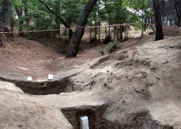 Una trinchera sitúa la batalla de Madrid a un kilómetro de donde se creía