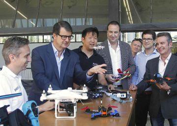 Barcelona quiere ser la primera 'dron-city' de España