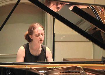 La pianista Varvara, estrella del Festival de Música de Cervià de Ter