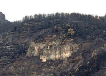 Estabilizado el fuego en Castellón tras arrasar 1.600 hectáreas
