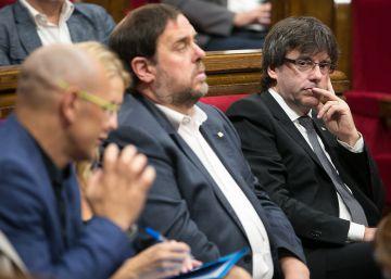 JxSí y la CUP cierran el texto de la segunda ley de ruptura: la Hacienda catalana