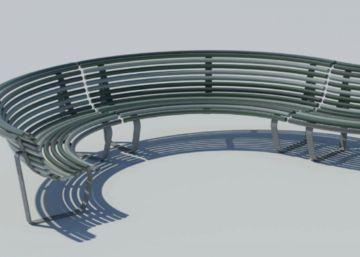 Madrid elige el diseño de los bancos en los que se sentará