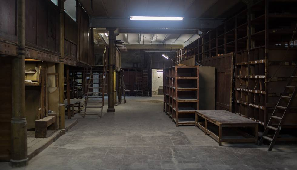Local de la futura Fundación Foto Colectania, en una antigua guarnicionería ecuestre del Paseo Picasso.