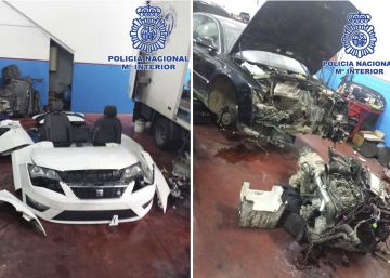 14 detenidos por legalizar coches robados con bastidores de desguaces
