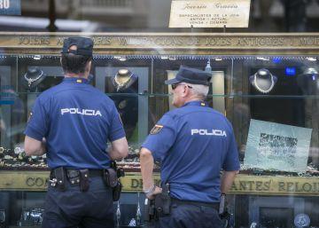 Persecución con tiros en el centro de Barcelona tras un atraco de los Pink Panther