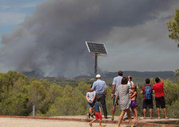 Los bomberos creen que el incendio de Saus fue provocado