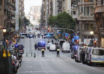 Alarma en Vía Laietana por un falso coche bomba