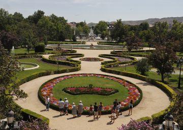 Los jardines de la felicidad