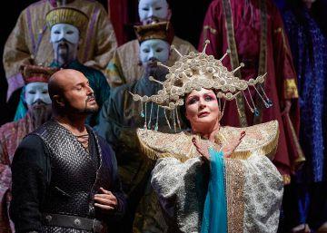 Peralada vive con emoción su primera 'Turandot'