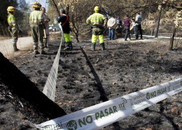 Alto riesgo de incendios en el norte de Alicante y el interior de Valencia