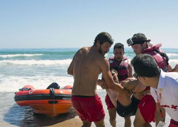 Así se rescata a una persona que se ahoga en el mar