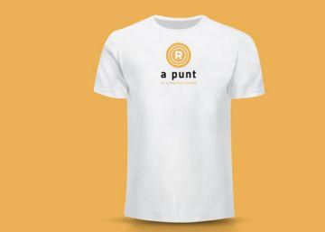 La ANC vende camisetas para la Diada para personalizar con un rotulador